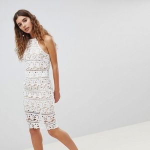 New Look White Lace Crop Top - ASOS